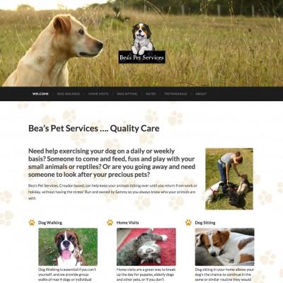 Bea's Pets Services