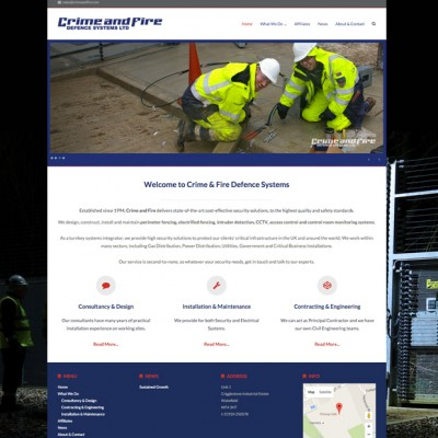Crime & Fire Defence Systems